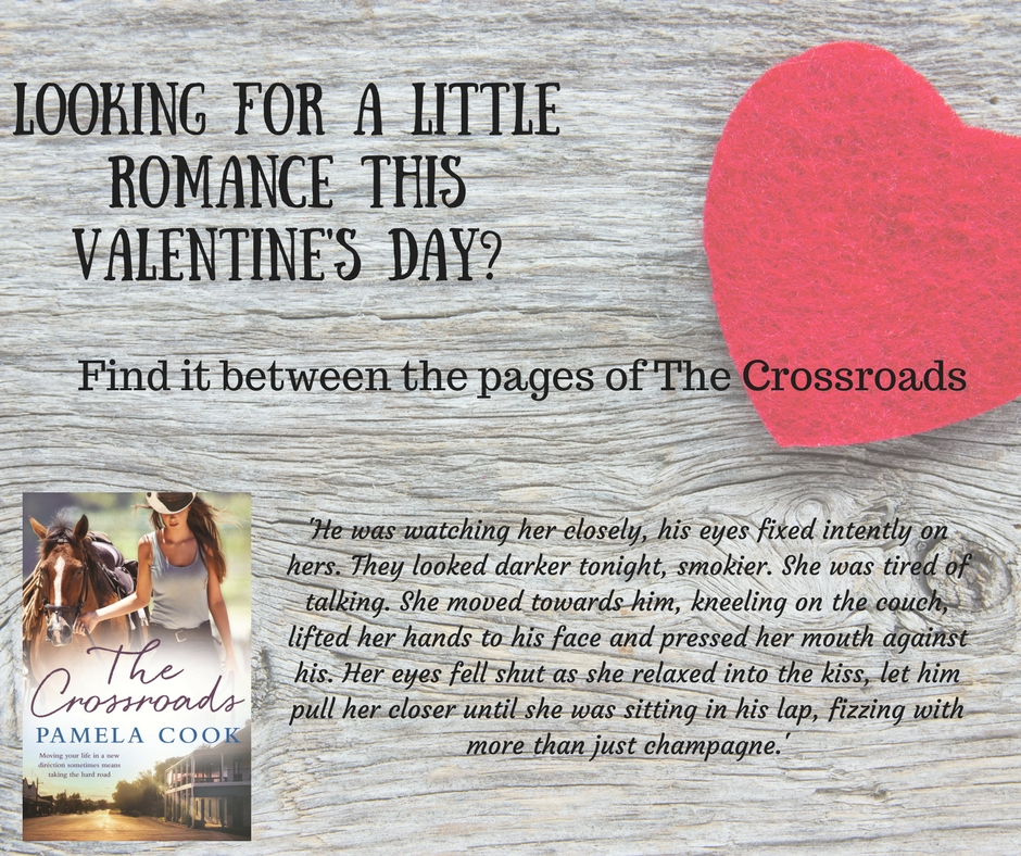 A Little Romance: Writing A Novel With Romantic Elements, Pamela Cook, @PamelaCookAU