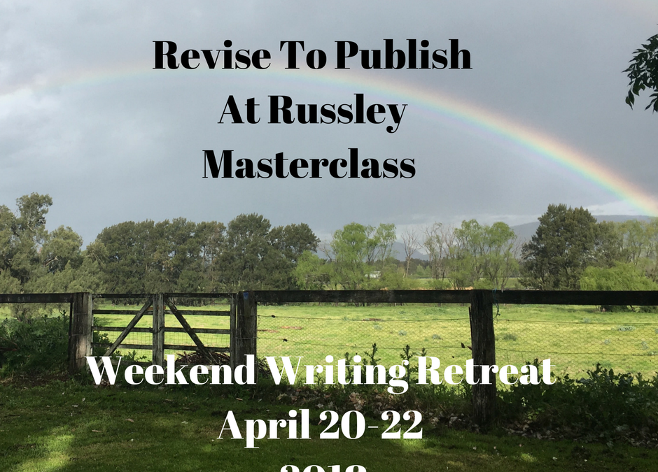 Revise To Publish Masterclass Applications Now Open (April 20-22 2018)