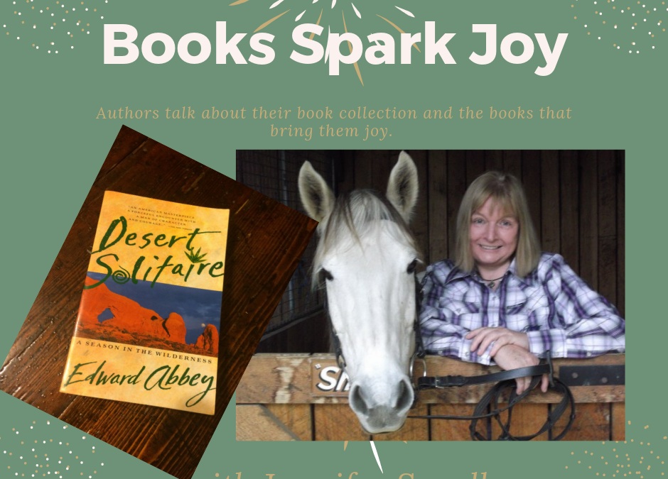 Books Spark Joy, Jennifer Scoullar, @PamelaCookAuthor