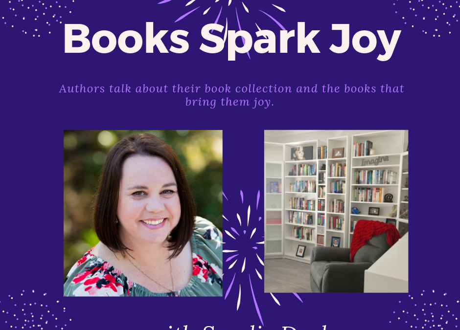 Books Spark Joy, Sandie Docker, @PamelaCookAuthor