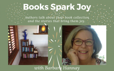 Books Spark Joy with Barbara Hannay