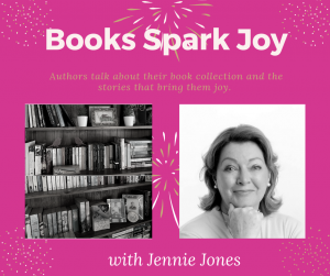 Books Spark Joy, Jennie Jones, @PamelaCookAuthor
