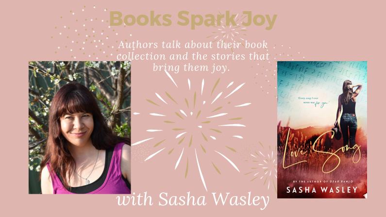 Books Spark Joy with Sasha Wasley